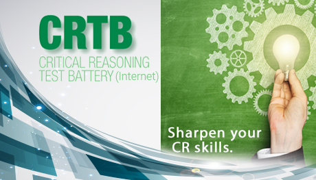 Critical Reasoning Test<br/> Battery (Internet)